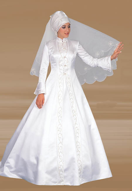 Hijab mariage style - Robe mariée avec Hijab (voile) 2013 ~ Hijab et ...
