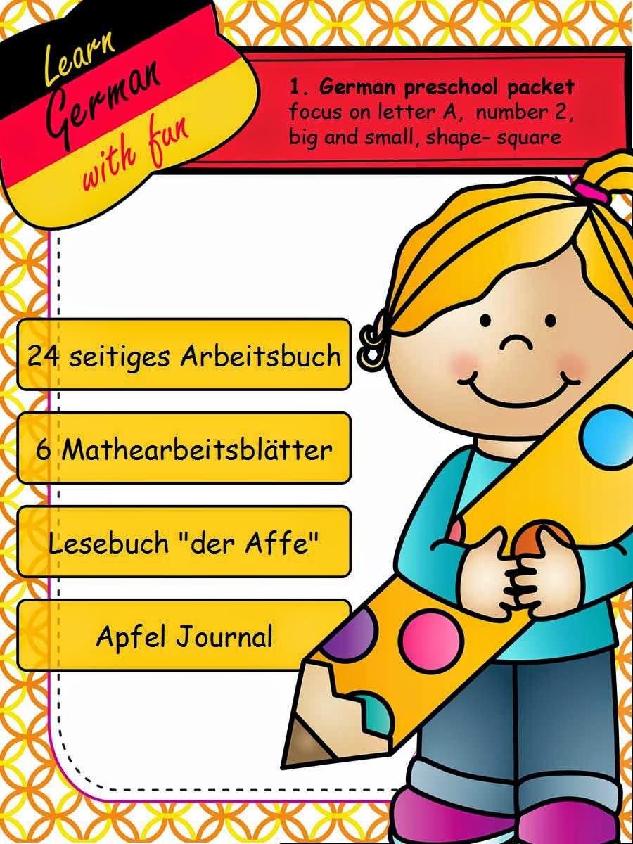 Arbeitsbuch für die Vorschule
