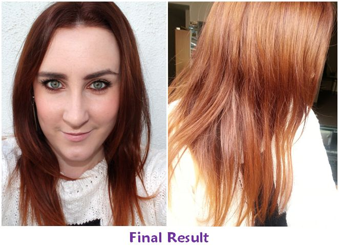 Light Auburn Hair Color