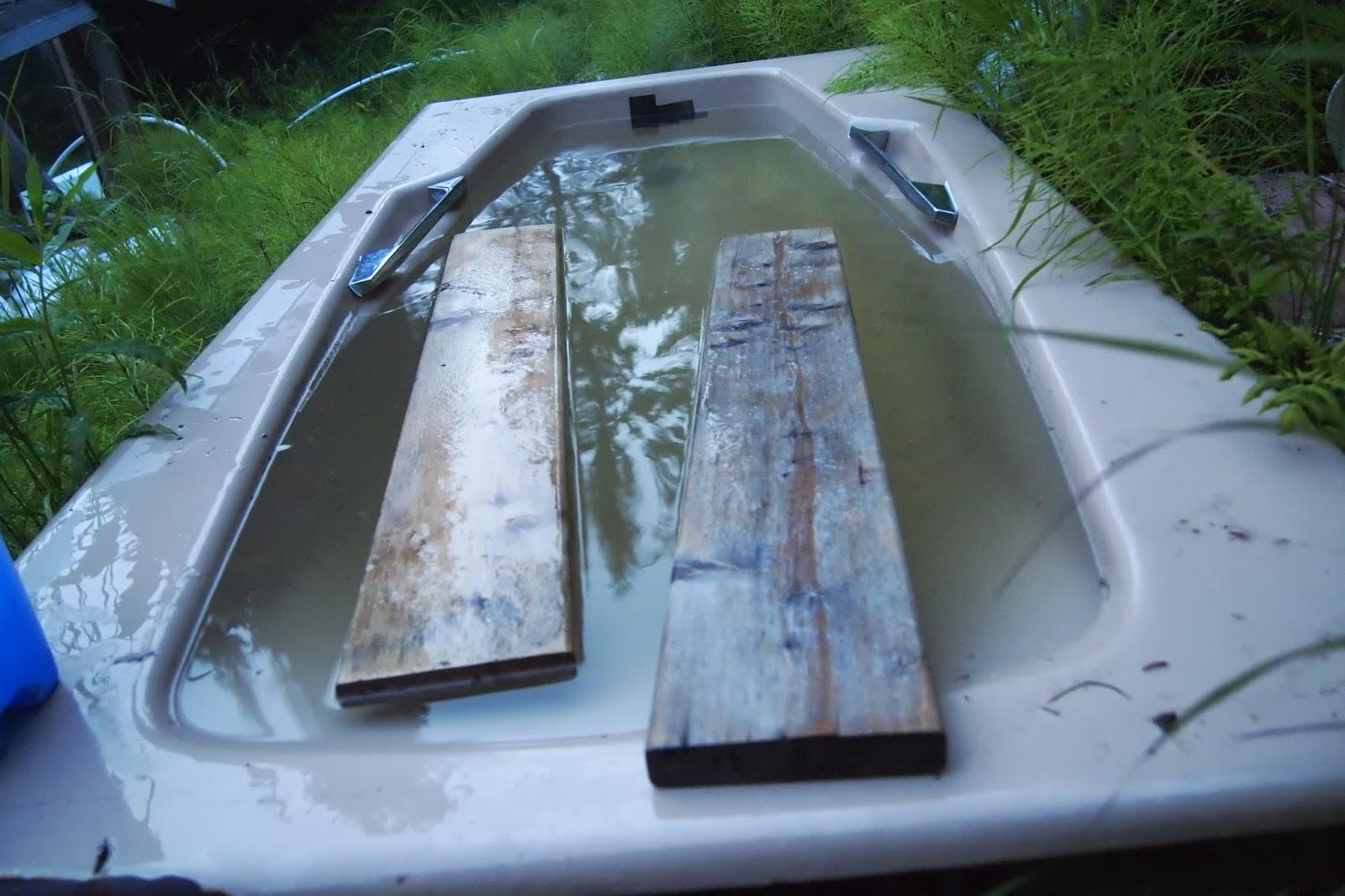 t i n y g o g o : Jennifer\'s wood-fired bathtub revisted