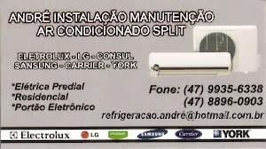 ANDRÉ INSTALAÇÃO MANUTENÇÃO