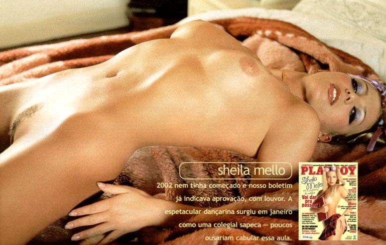 Sheila Mello Na Capa Da Playboy