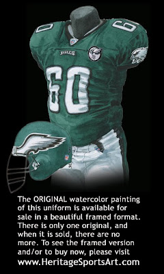 Philadelphia Eagles 2007 uniform