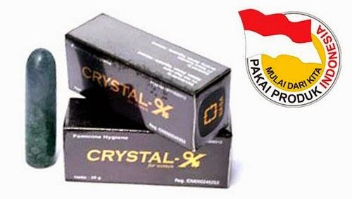 Crystal X Asli Produk Indonesia