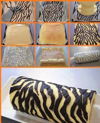 Zebra Rulo Pasta Tarifi Yapımı