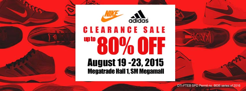d513be18bee Sports Central is having a Nike and Adidas Clearance Sale event on August  19