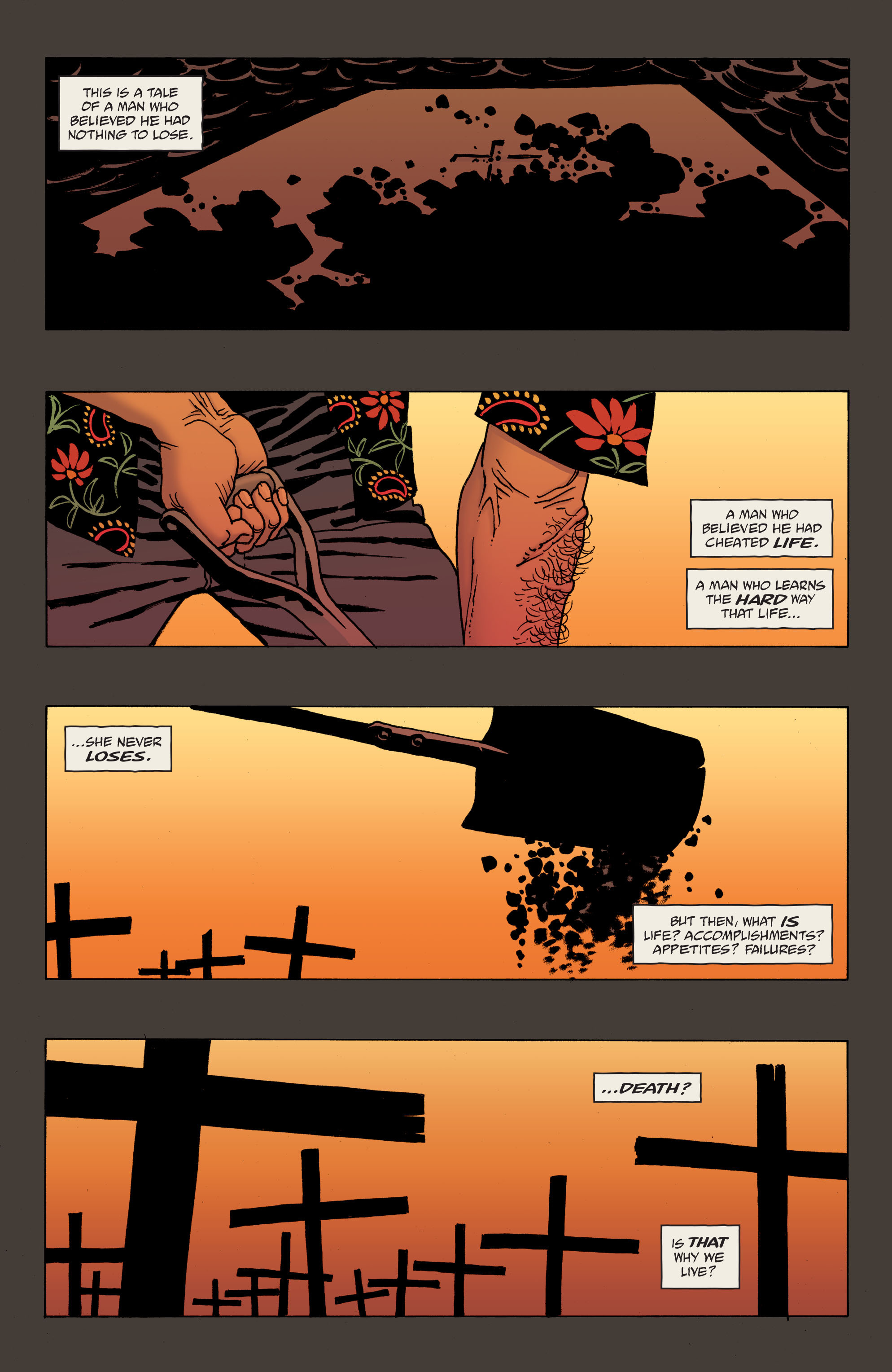 100 Bullets: Brother Lono Full Page 8