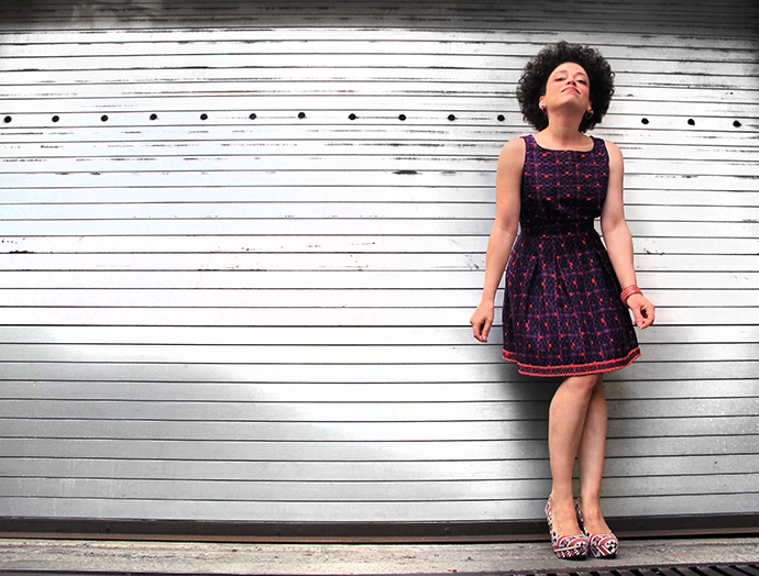oonaballoona | a sewing blog by marcy harriell | anna sui linen mini dress