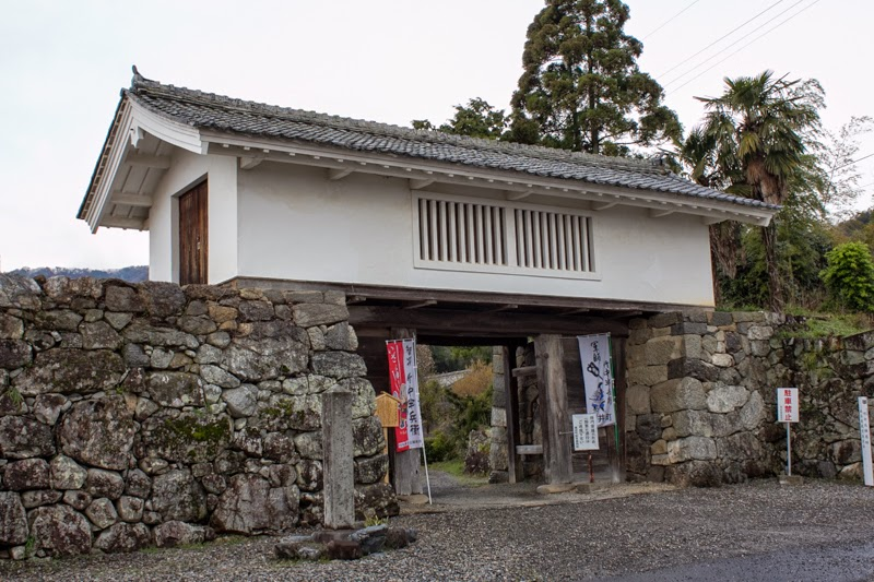 Tower gate of Takenaka Jinya