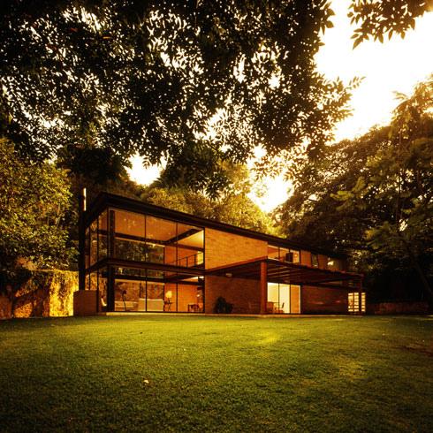 Hermosa casa de monta a con toque moderno ideas para for Casa moderna en la montana