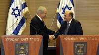 Benjamin Netanyahu and Shaul Mofaz