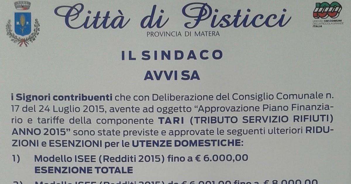 Sindaco Del Comune Di Pisticci (MT)   Blogger
