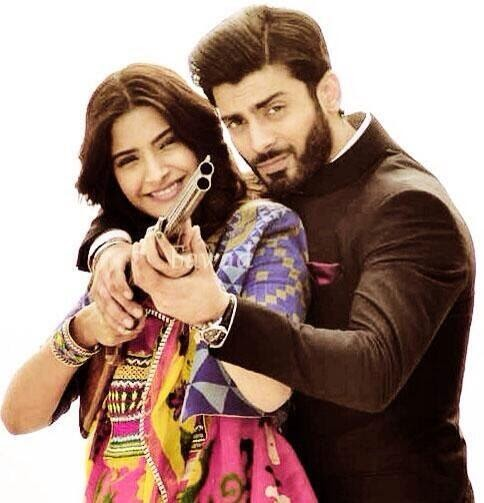 Fawad Khan and Sonam Kapoor khobsurat