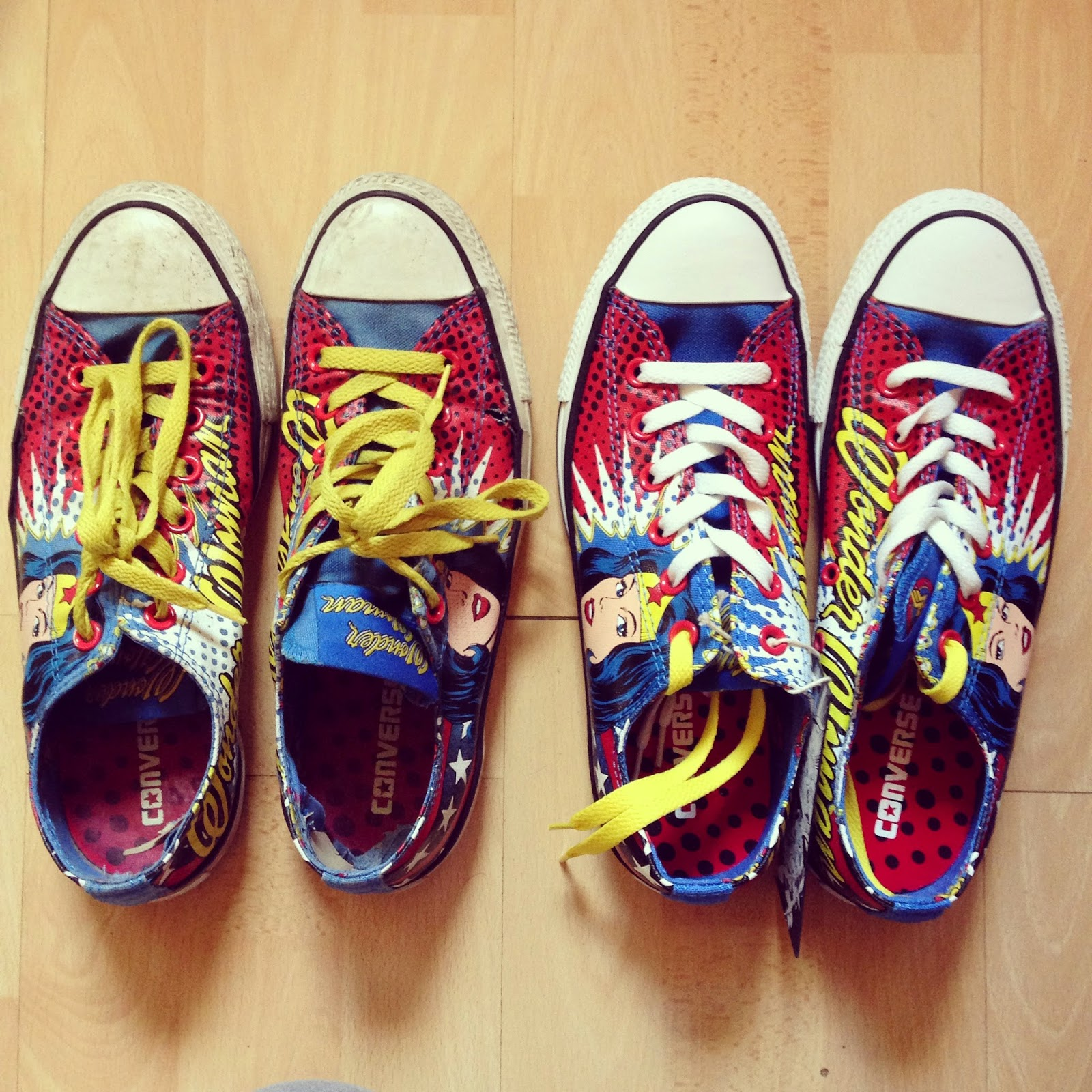 Wonder Woman Converse Love Life Lexi