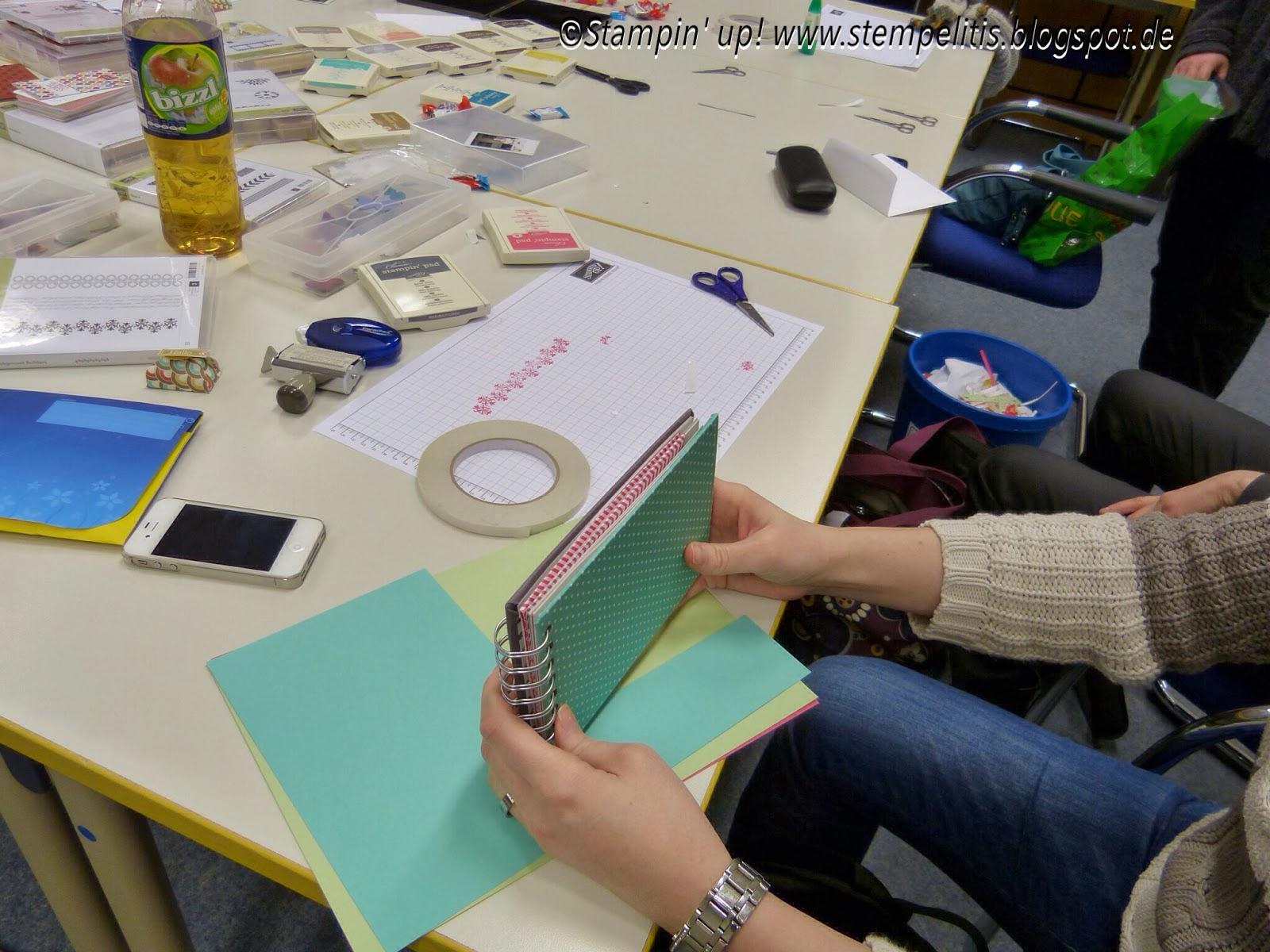 Stempelitis workshop fotoalbum for Selbstgemachtes fotoalbum
