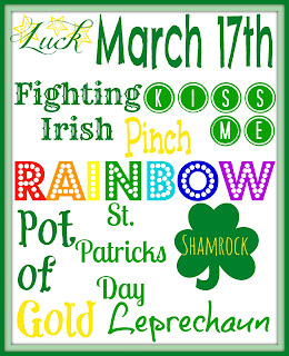 Free St. Patricks Day Printable