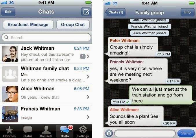 تحميل برنامج واتس آب لهواتف بلاك بيري مجاناً أحدث إصدار WhatsApp Messenger BB 2.11.662