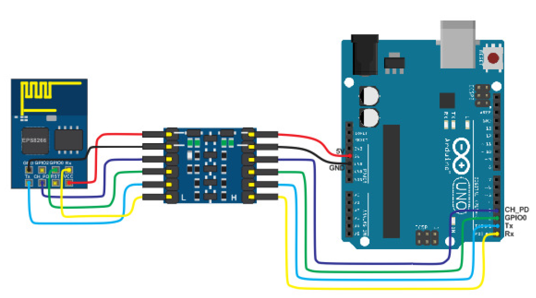 Arduino uno r3 i2c connection