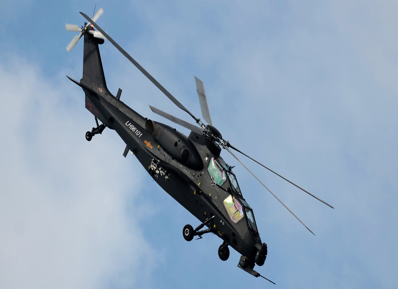 HQ Image of Chinese Z-10 Attack Helicopter | Chinese ...