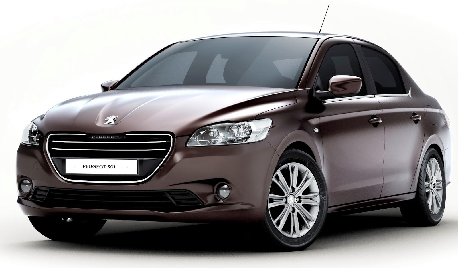 Peugeot 301 diseño 2014