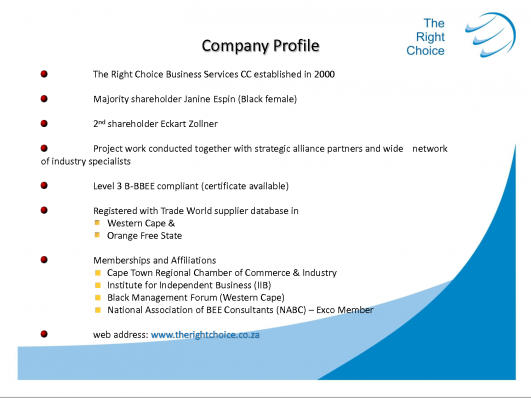 COMPANY PROFILE TEMPLATES InterestingPage – Company Profile Template