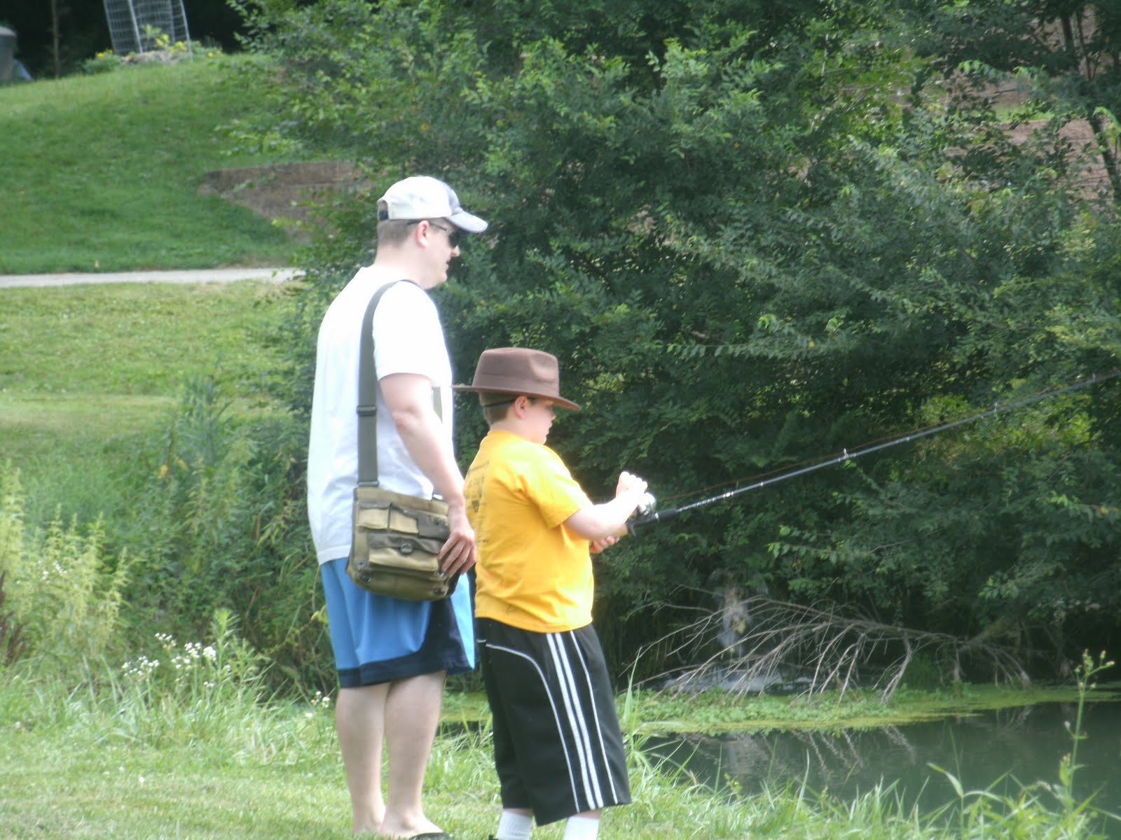 Oliver 39 s journey trout fishing for Indiana fishing license age