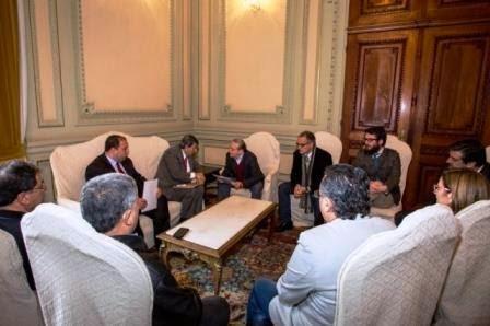 Governador Tarso recebe embaixador da Palestina e FEPAL