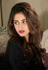 Sajal ali New hair style 2015