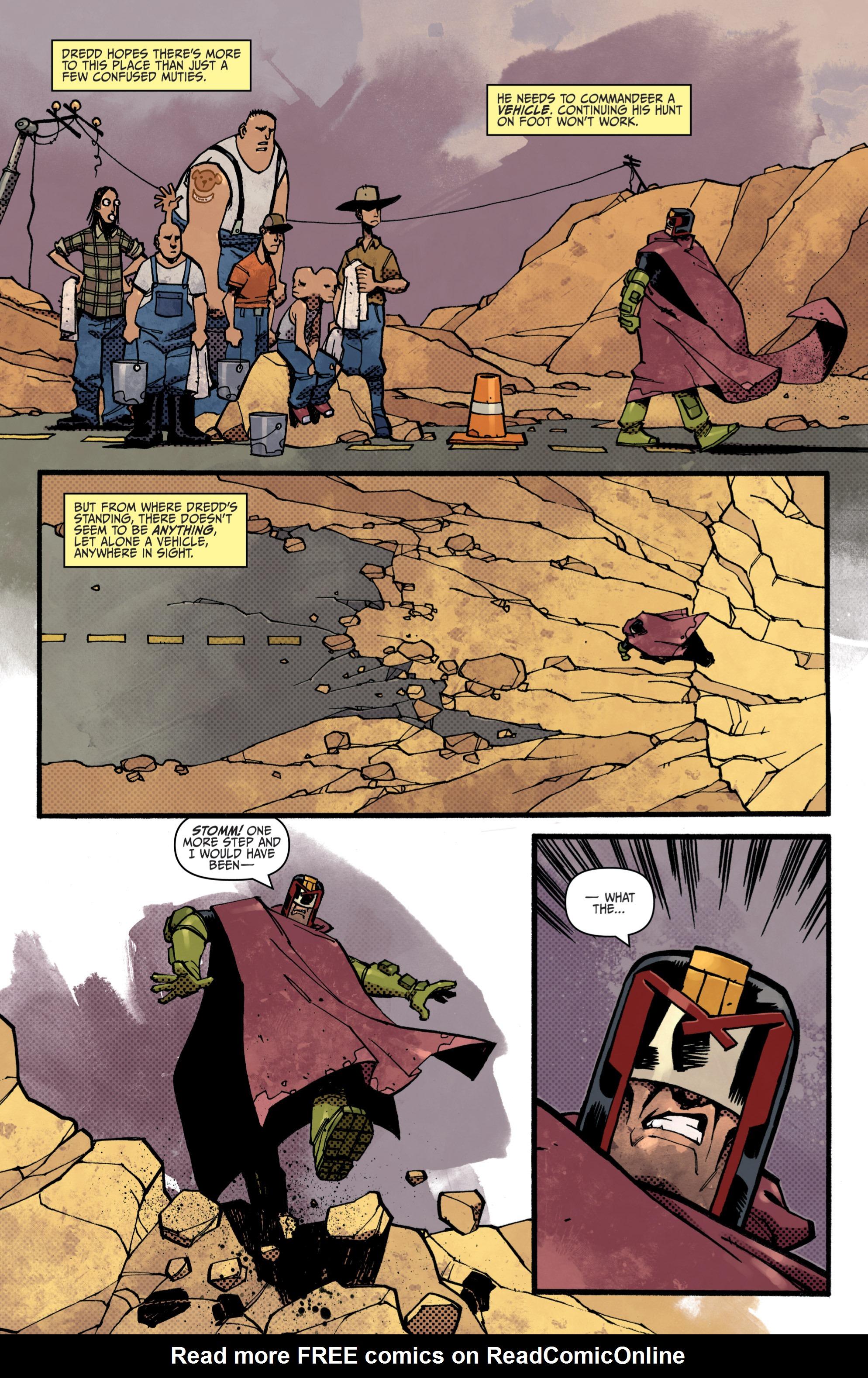 Read online Judge Dredd (2012) comic -  Issue # _TPB 3 - 8
