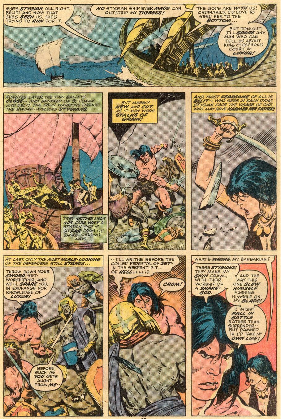 Conan the Barbarian (1970) Issue #74 #86 - English 9