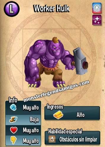 imagen de las caracteristicas de worker hulk
