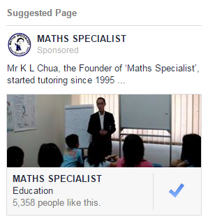 MATHS SPECIALIST Facebook