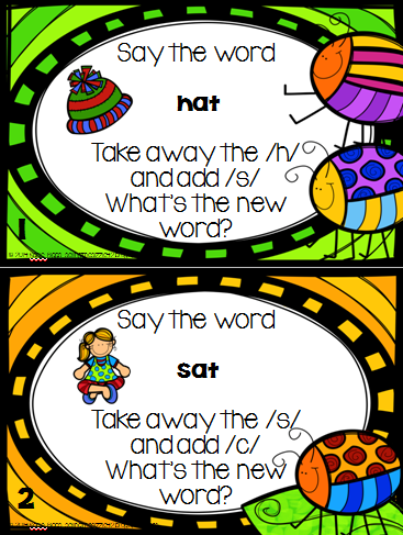 http://www.teacherspayteachers.com/Product/Spring-Phoneme-Subsitution-FREEBIE-1209031