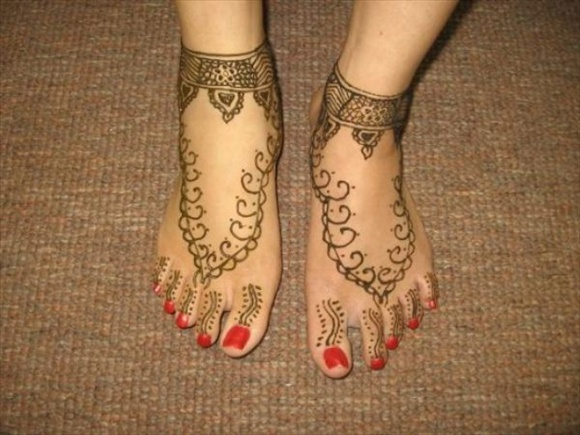 simple designs of mehndi
