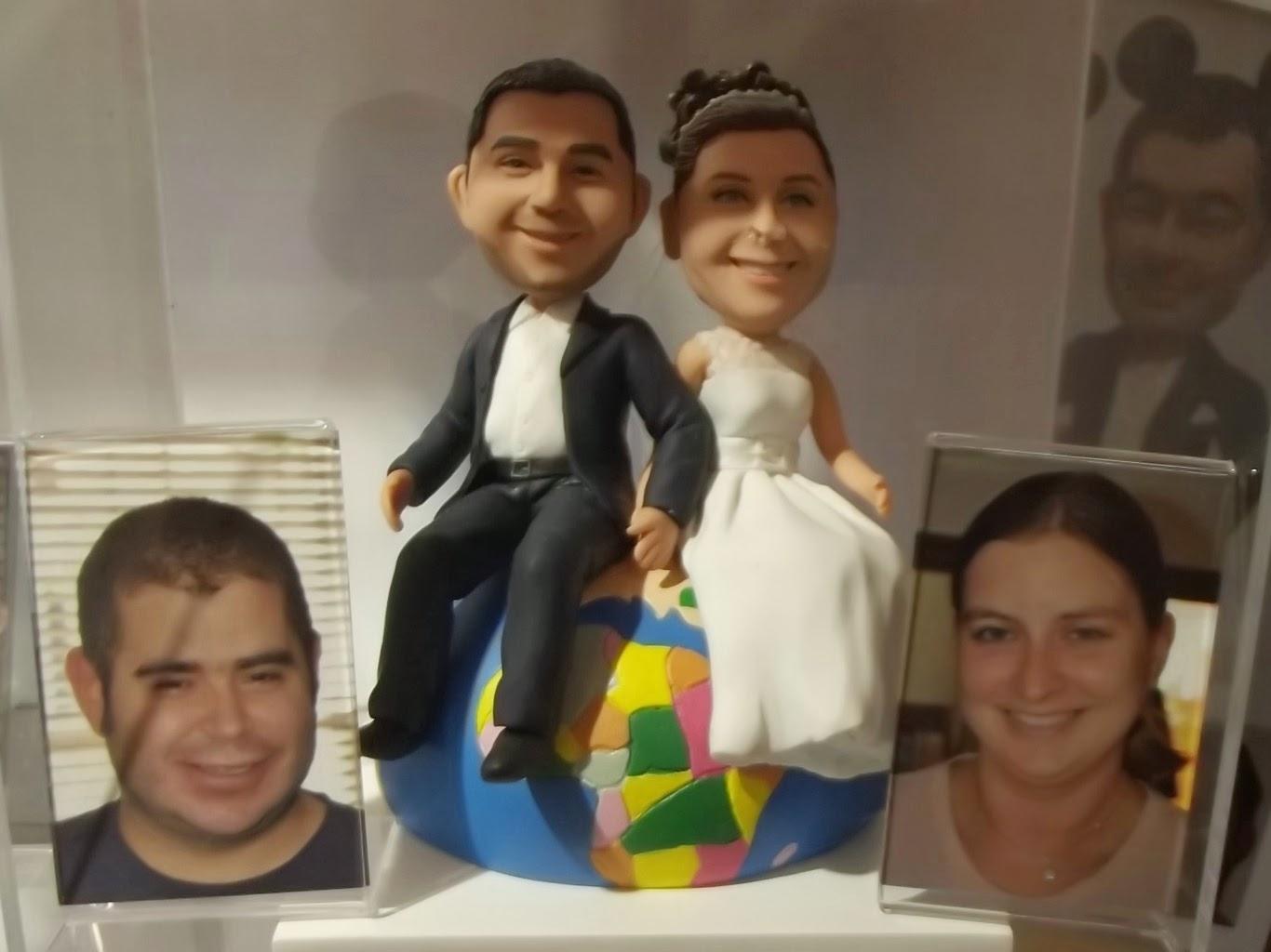 National Wedding Show NEC 2014 Cake Toppers MyminiYou
