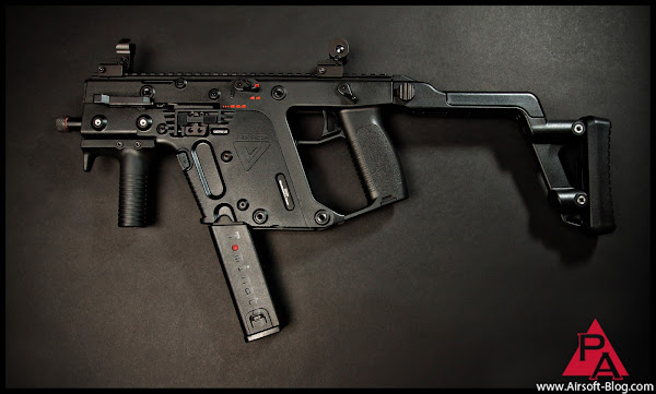 kwa kriss vector, airsoft submachine gun, airsoft obsessed, tom harris, tominator, dave baks,