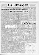 LA STAMPA 10 SETTEMBRE 1950