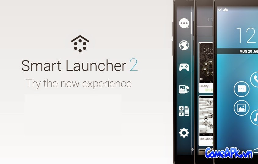 Smart Launcher Pro 2 v2.10 Patched cho Android