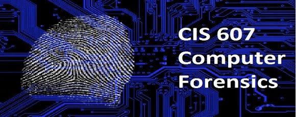 William Slater's CIS 607 Blog