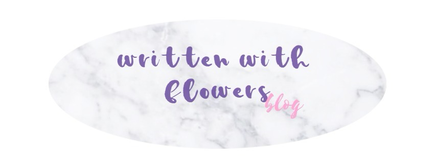 written with flowers blog