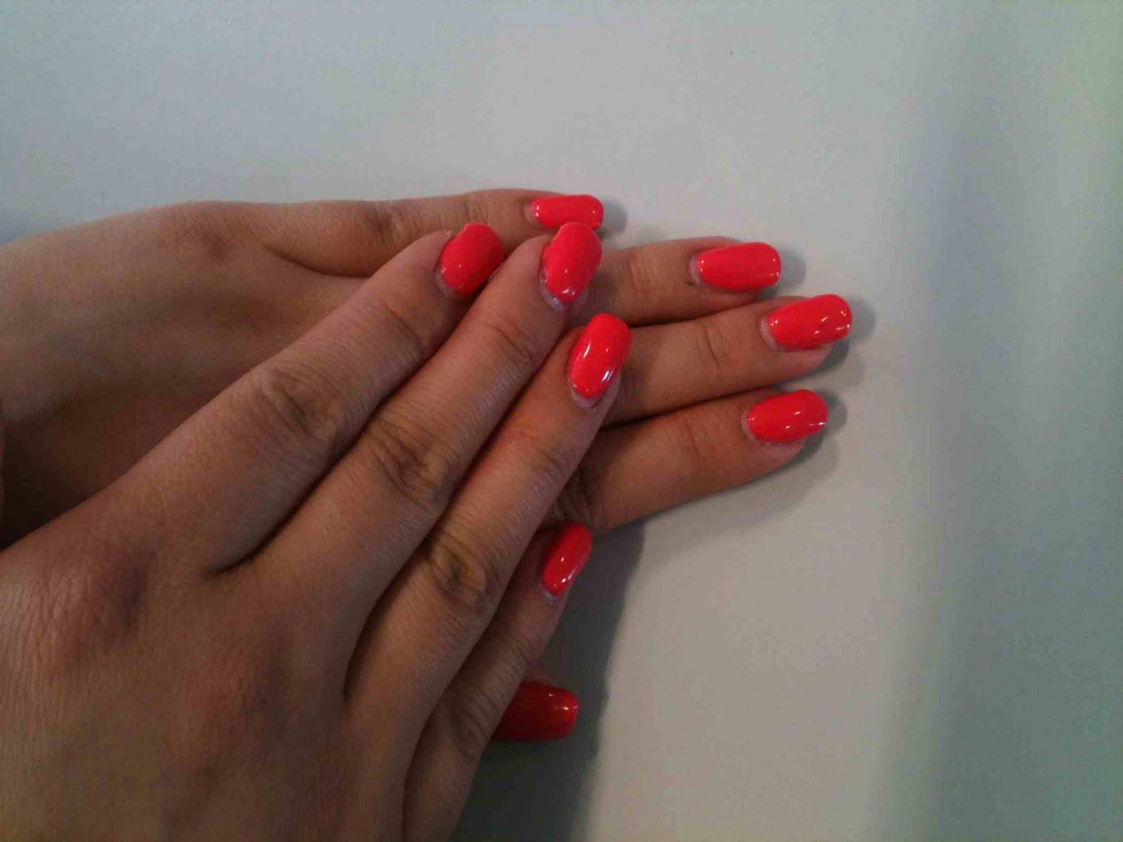 Patience Ltd.: Shellac Gel nails