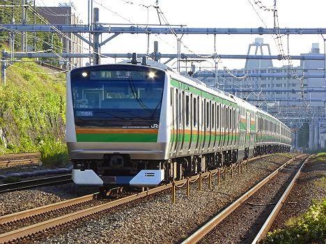 東海道線 普通 平塚行き E233系