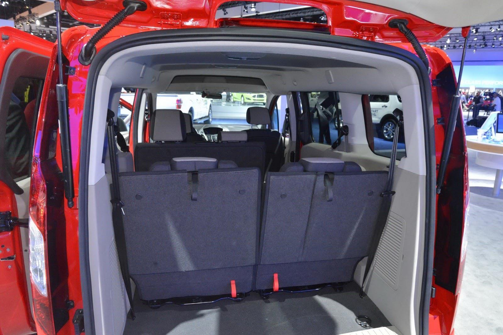 2014 Ford Transit Connect Wagon Özellikleri Resimleri ve İncelemesi