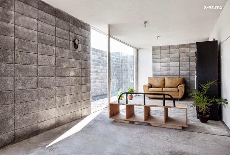 Arquitectura de casas moderna casa caja de bloques de for Casas modernas hormigon visto