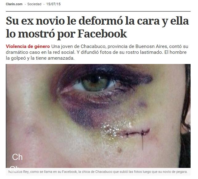Chacacabuquero noticias de chacabuco joven v ctima de violencia de g nero es noticia nacional - Casos de violencia de genero ...