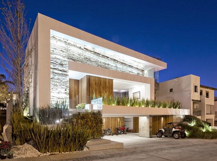 Residencia vista clara la vista country club puebla mexico arquitexs for Casa cub moderne