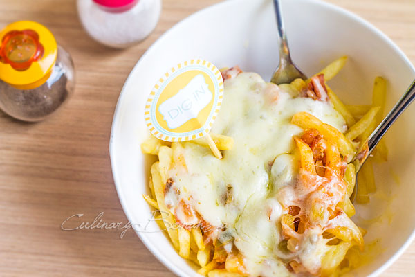 Culinary Bonanza Vesuvius Fries IDR 35,000