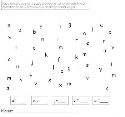 Exercicios Alfabetização - Atividades para Alfabetização Quatro