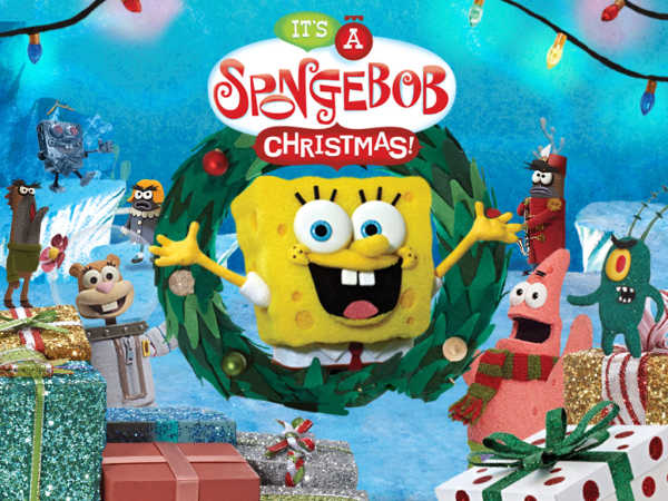 SpongeBob SquarePants (HINDI) It's a SpongeBob Christmas! Special ...