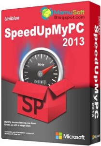 Uniblue SpeedUpMyPC 2013 v5.3.4.8 With Serial Key/Number Free Download